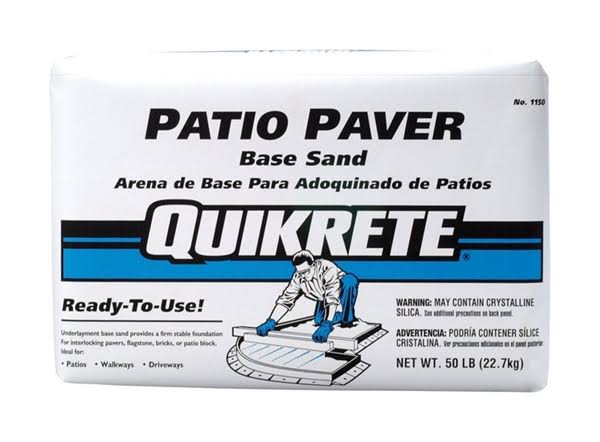 Quikrete Patio Paver Brown Base Sand - 50lbs