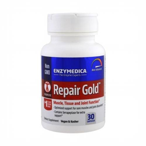 Enzymedica Repair Gold, Muscle, Tissue and Joint Function Supplement - 30 Capsules