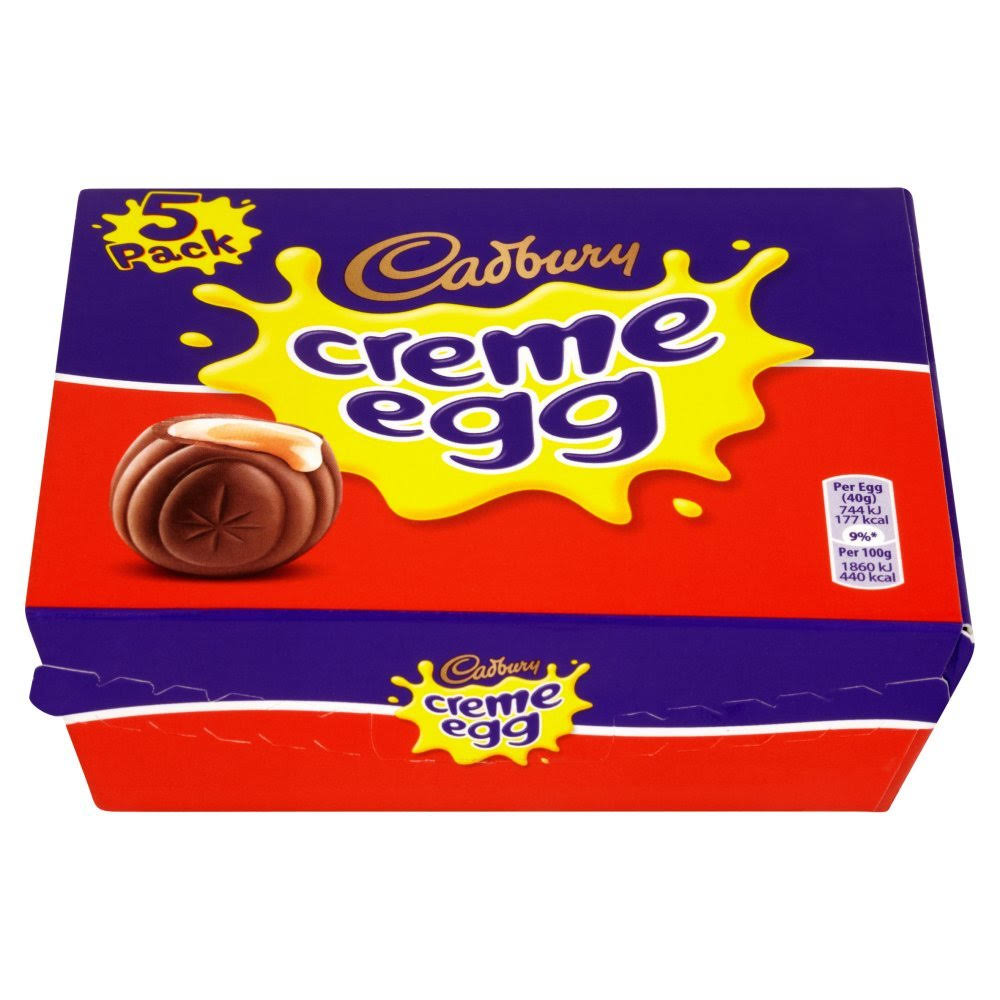 Cadbury Creme Egg - 5 Pack