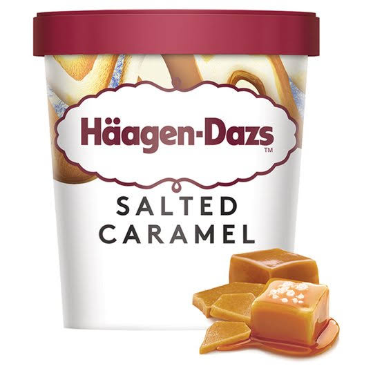 Haagen Dazs Salted Caramel Ice Cream - 460ml