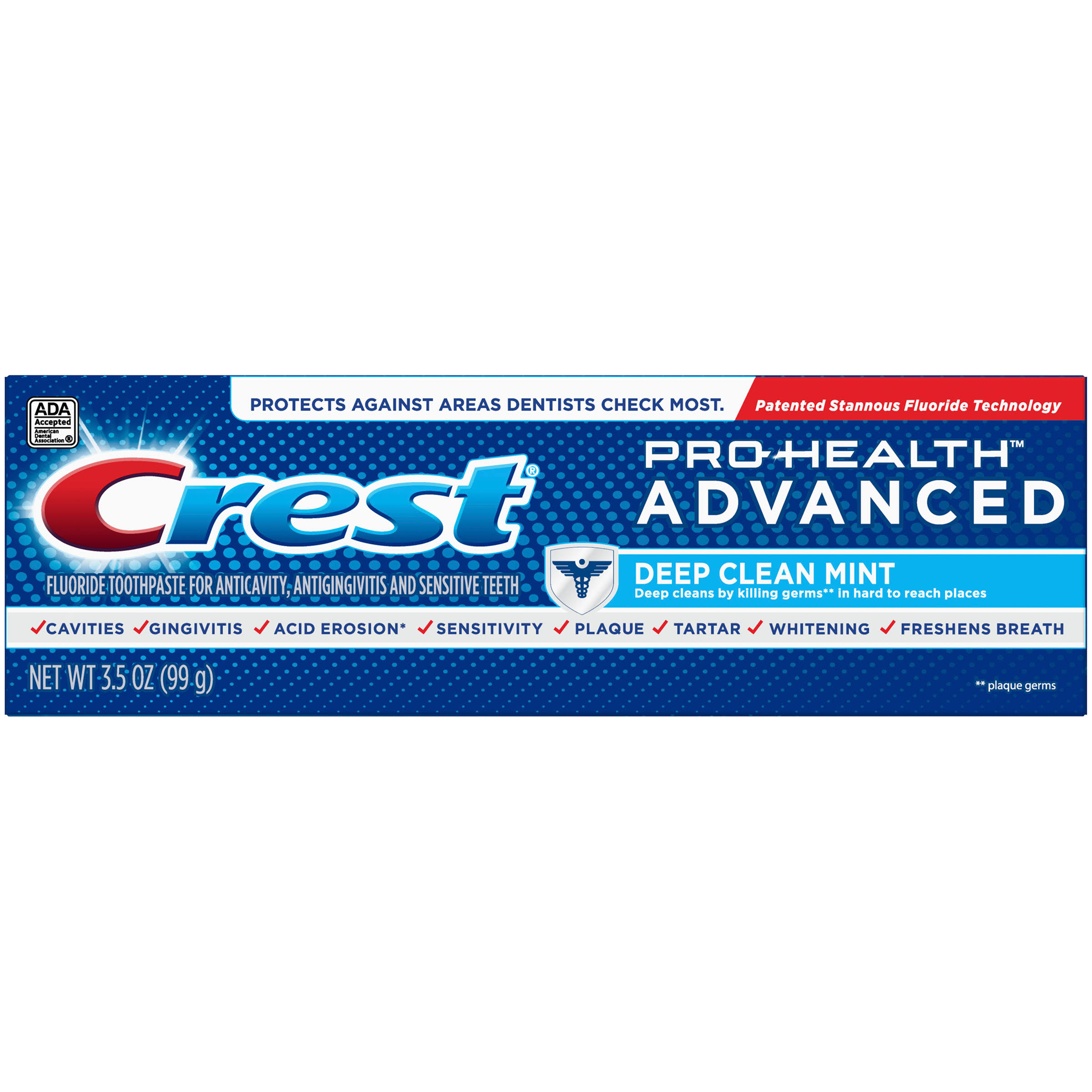 Crest Pro-Health Advanced Deep Clean Mint Fluoride Toothpaste - 3.5oz
