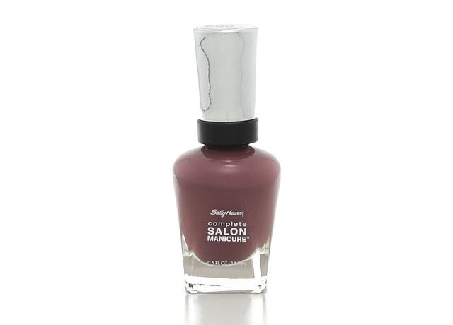 Sally Hansen Complete Salon Manicure Nail Color - #461 Plum's the Word, 0.5oz