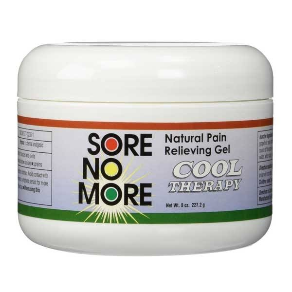 Sombra Cosmetics Sore No More Cool Therapy Natural Pain Relieving Gel Jar - 8oz