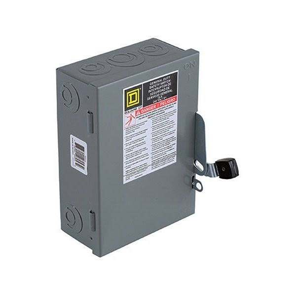 Square D General Duty Safety Switch - 30 Amp