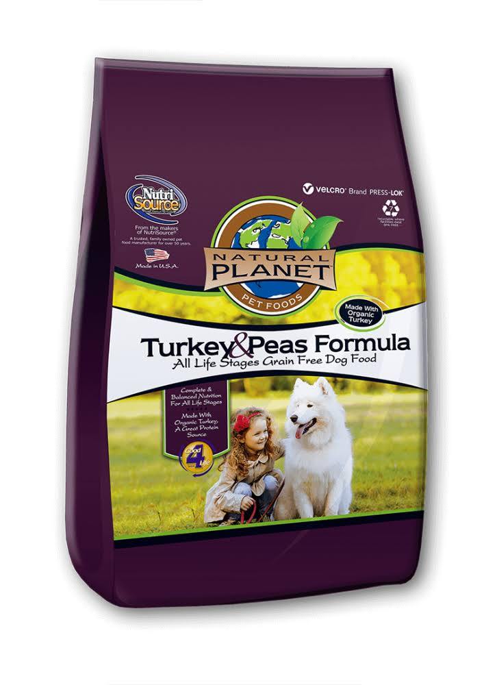 Tuffy Natural Planet Organics Turkey Dogs Food - 15lbs