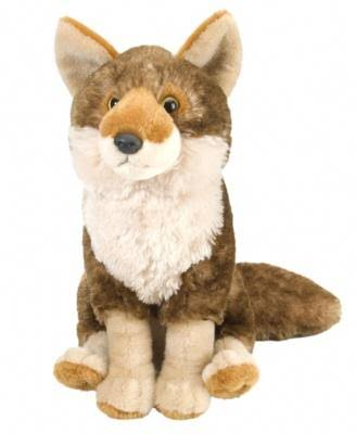 Wild Republic Cuddlekins Coyote Plush Toy - 12""