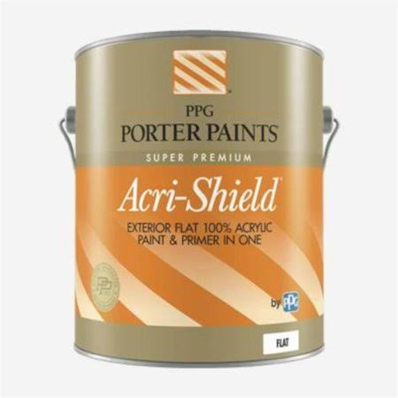 PPG Porter Paints PP519-20XI-01 Acri -Shield Extrior Midtone Base Paint - 1 Gal - Pack of 4