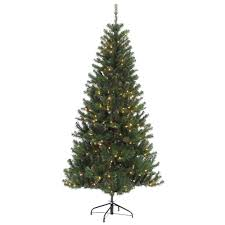 Pine Cone Christmas Trees For Sale by Martha Stewart Living 7 5 Ft Pre Lit Led Alexander Pine Quick Set