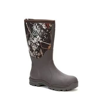 Muck Boot Womens Woody Max Outdoor Hunting Breathable Boots Rubber Sole Camo W8 Us