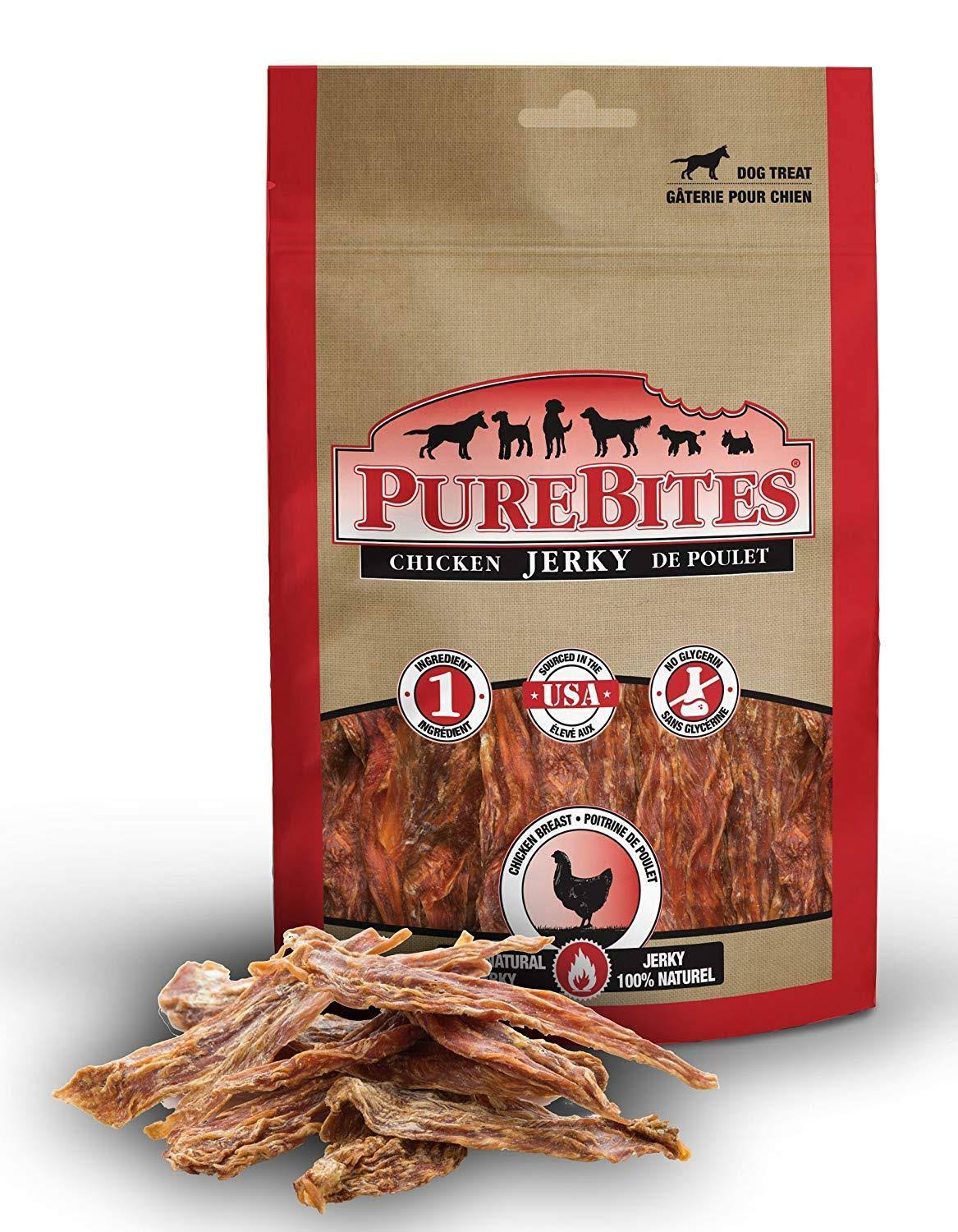 Purebites Jerky For Dogs - Chicken, 599g