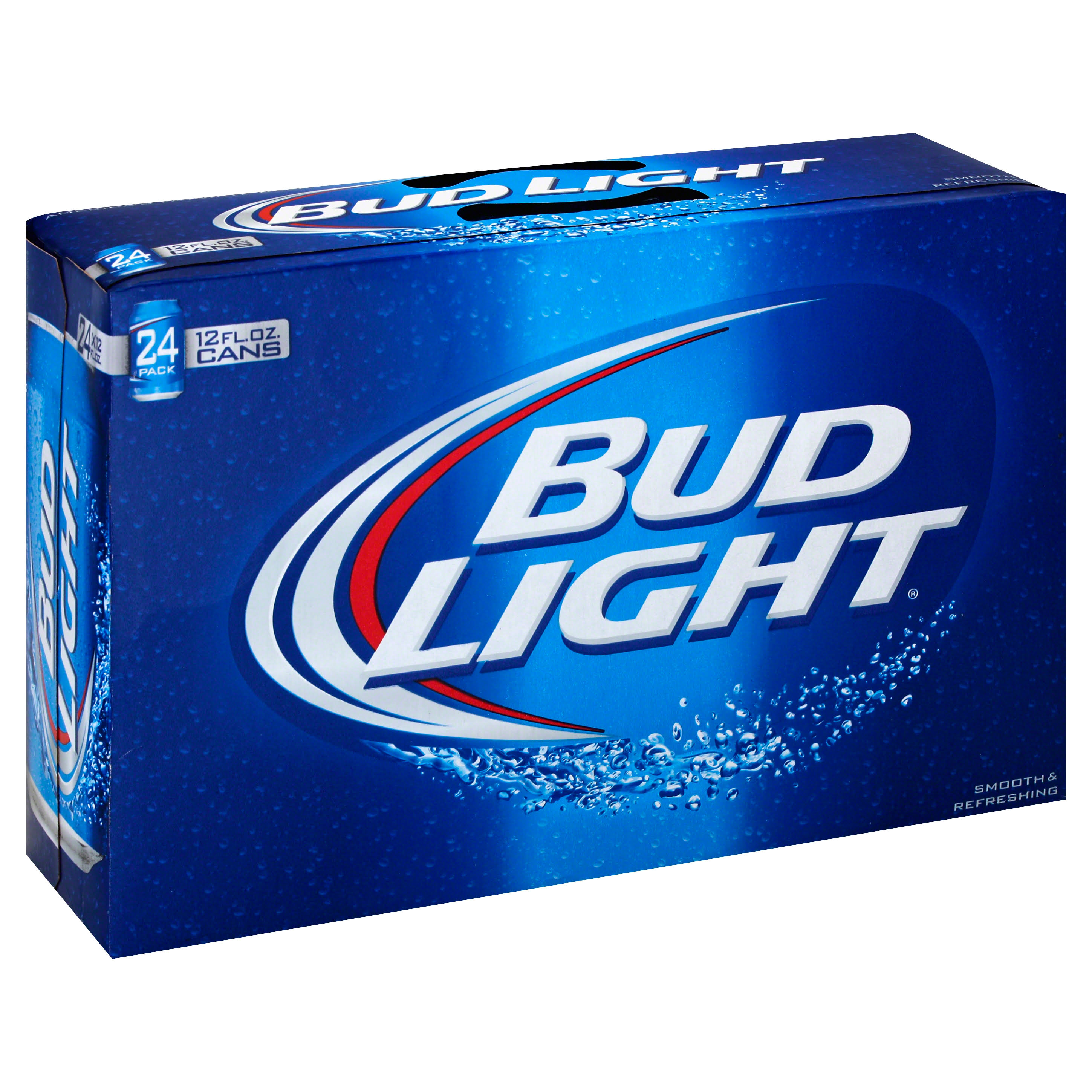 Bud Light Beer - 24 pack, 12 fl oz cans