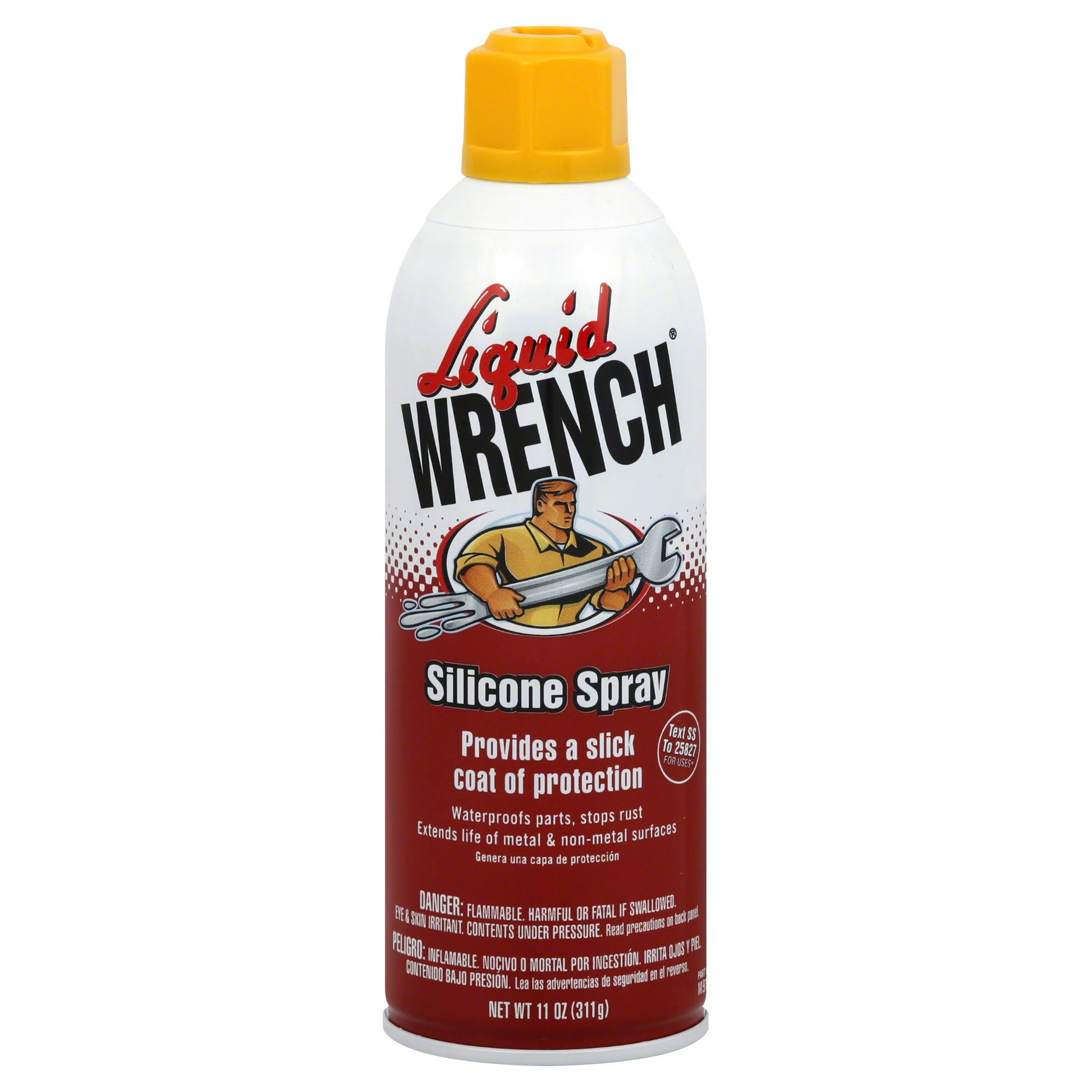 Liquid Wrench Heavy Duty Silicone Spray Lubricant - 11oz