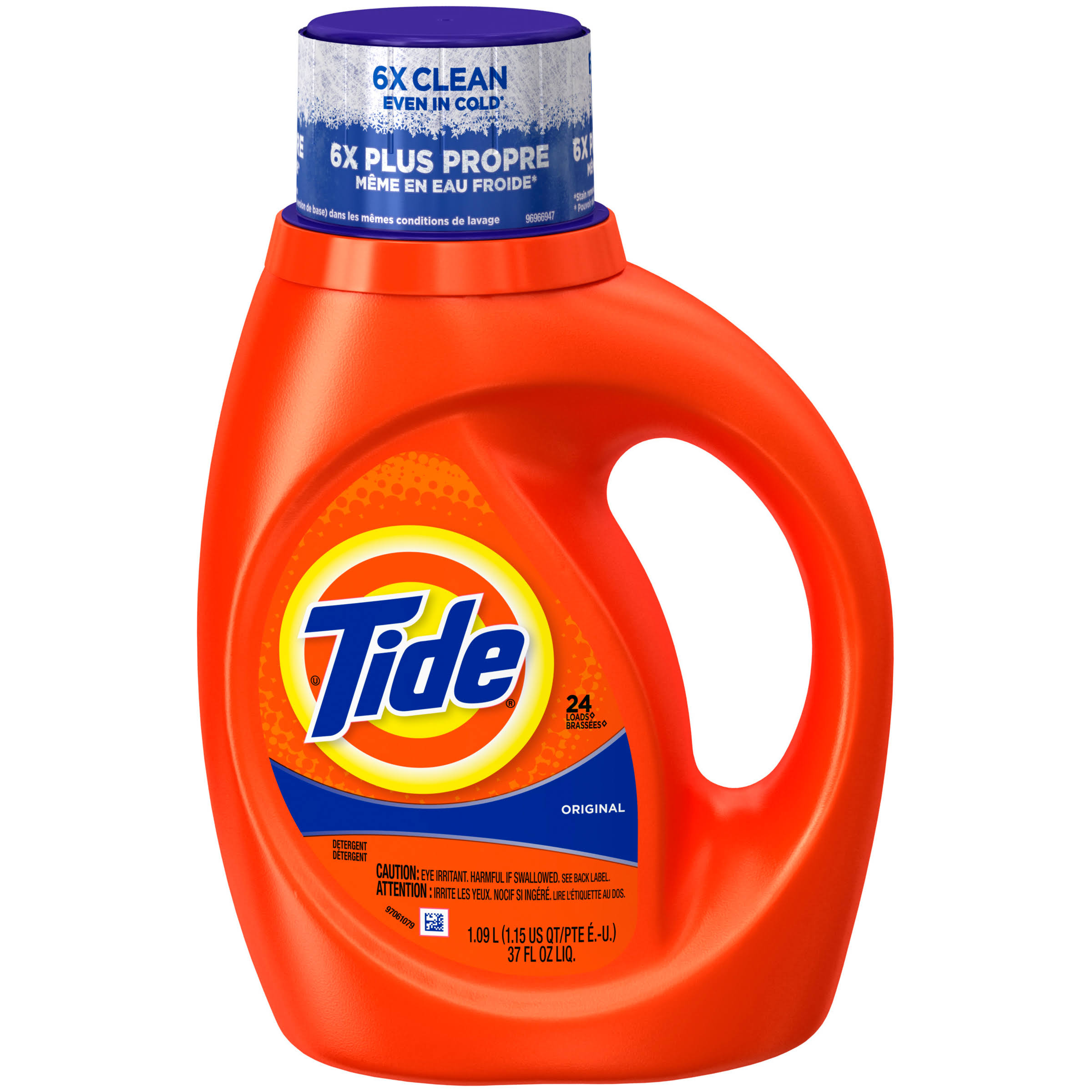 Tide Liquid Laundry Detergent, Original, 24 Loads 37 fl oz