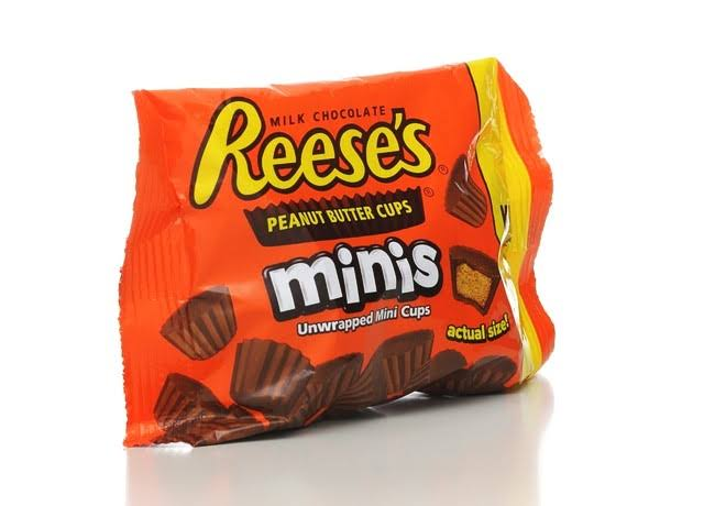 Reese's Peanut Butter Cups Minis - King Size, 70g
