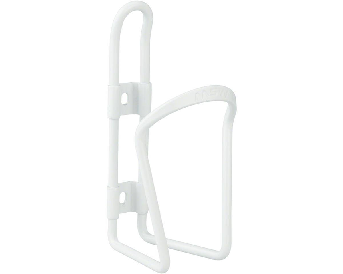 Msw Ac-100 Water Bottle Cage - White, 6mm