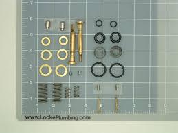 Foot Pedal Faucet Valve by Kohler Dual Foot Pedal Control Valve Repair Kit Locke Plumbing