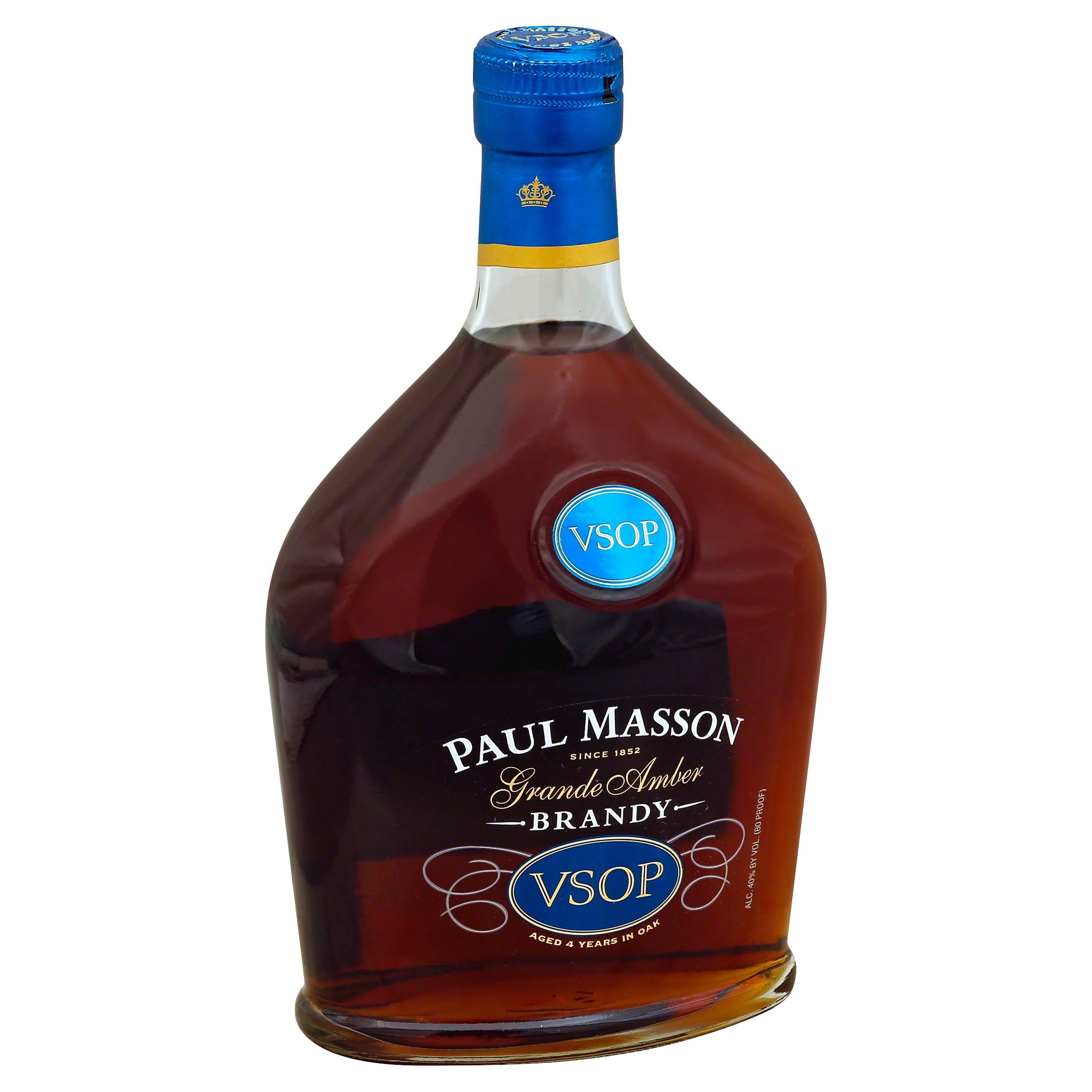 Paul Masson VSOP Brandy - 750 ml bottle