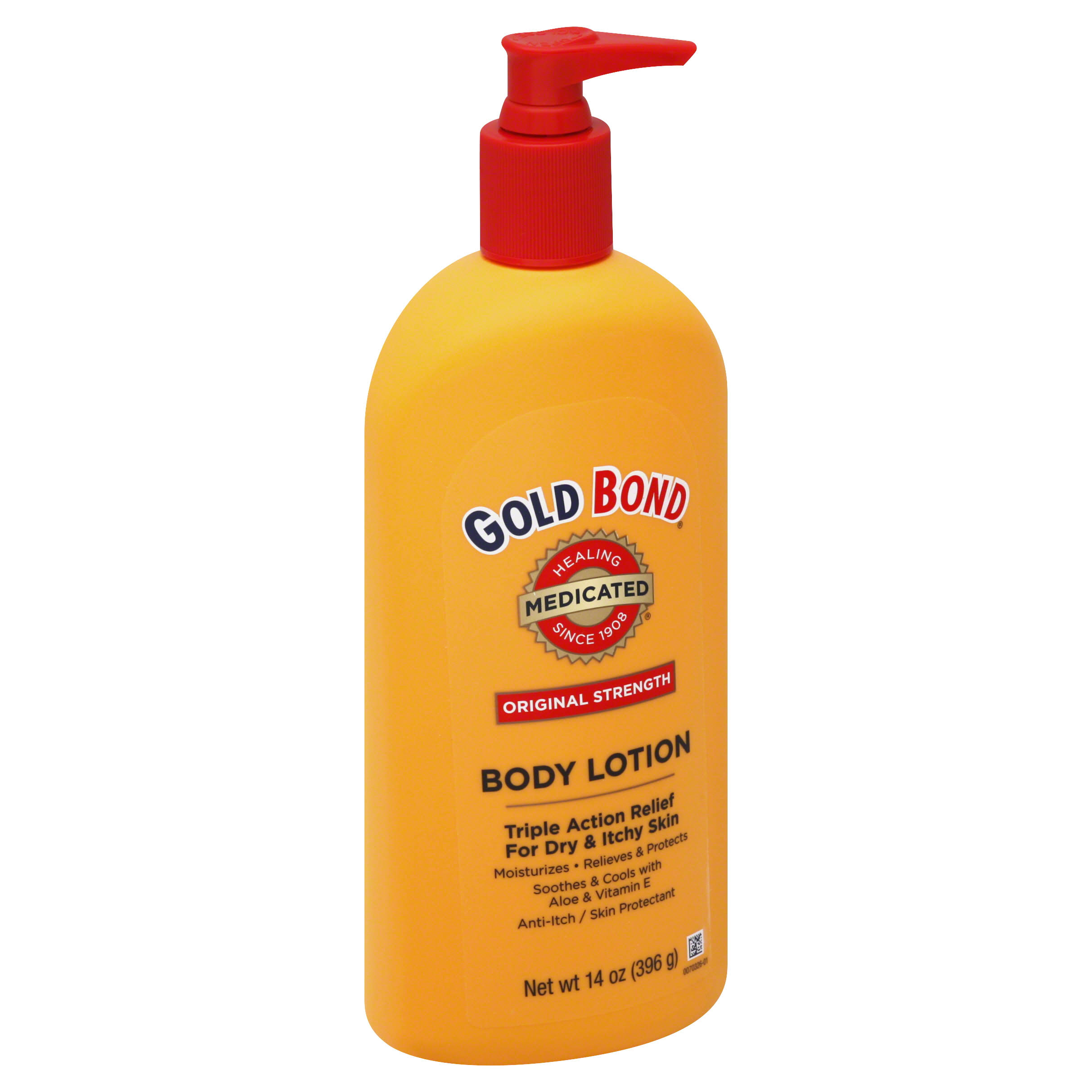 Gold Bond Original Strength Medicated Triple Action Relief Body Lotion - 14oz
