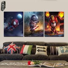 Superhero Bedroom Decor Nz by Online Buy Wholesale Superhero Canvas From China Superhero Canvas