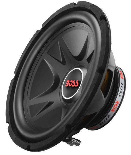 Boss BE12D Elite - 12 inch Dual Voice Coil (4 Ohm) 1000-Watt Subwoofer