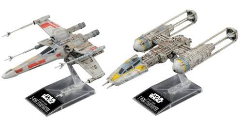 X-Wing & Y-Wing Starfighter Star Wars, Bandai Star Wars 1/144