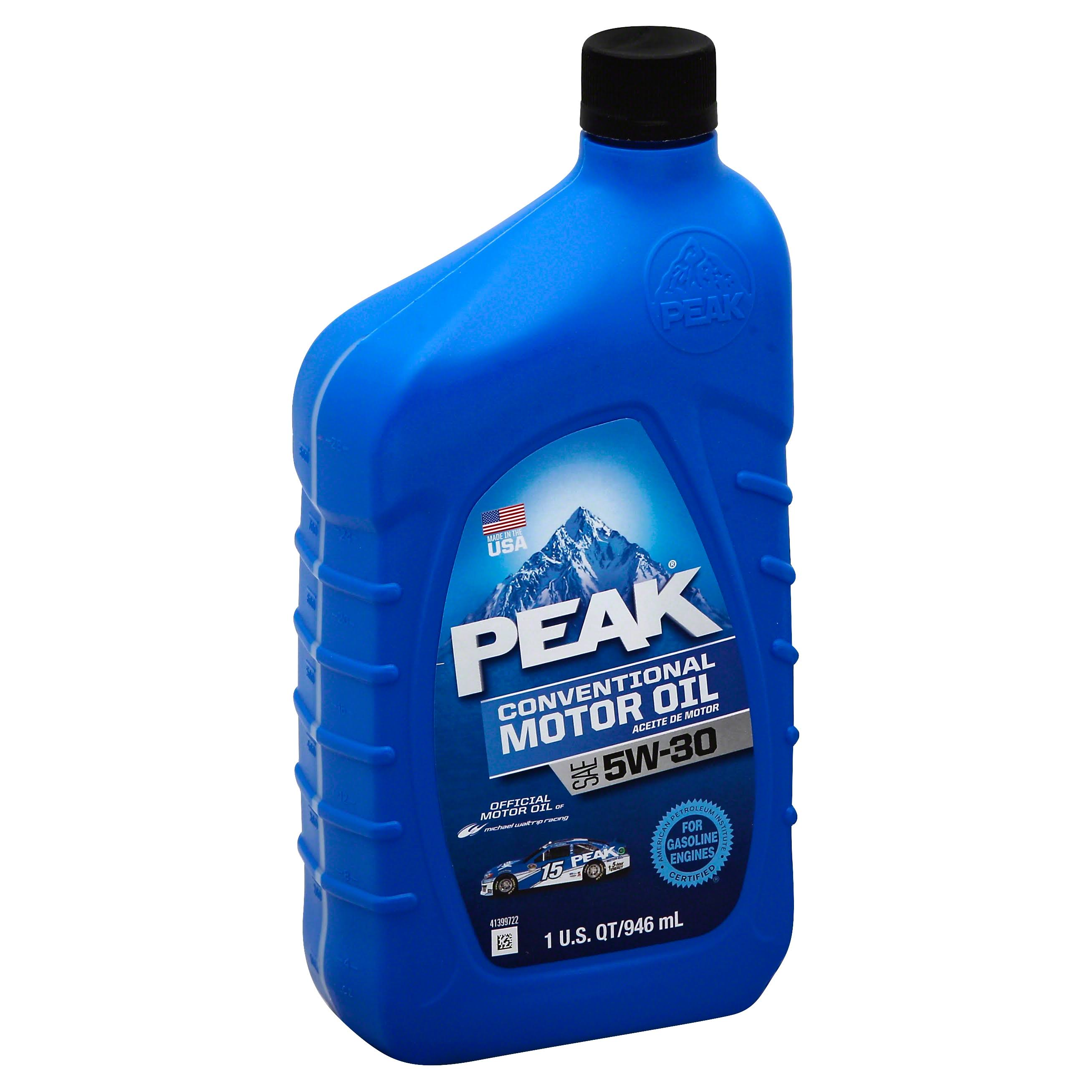 Old World Automotive Product Peak 5W30 Motor Oil - 1qt