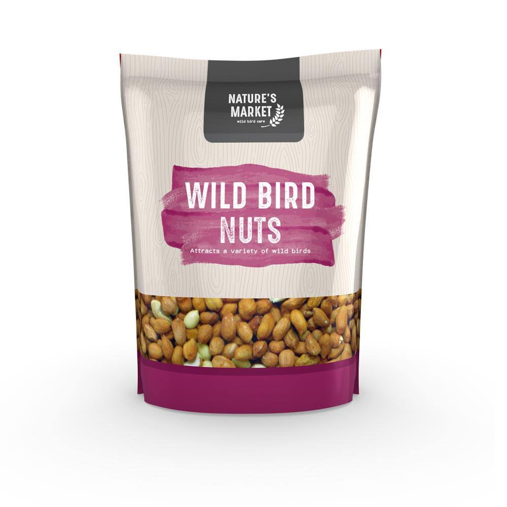 Kingfisher Wild Bird Nuts - 1kg Bag