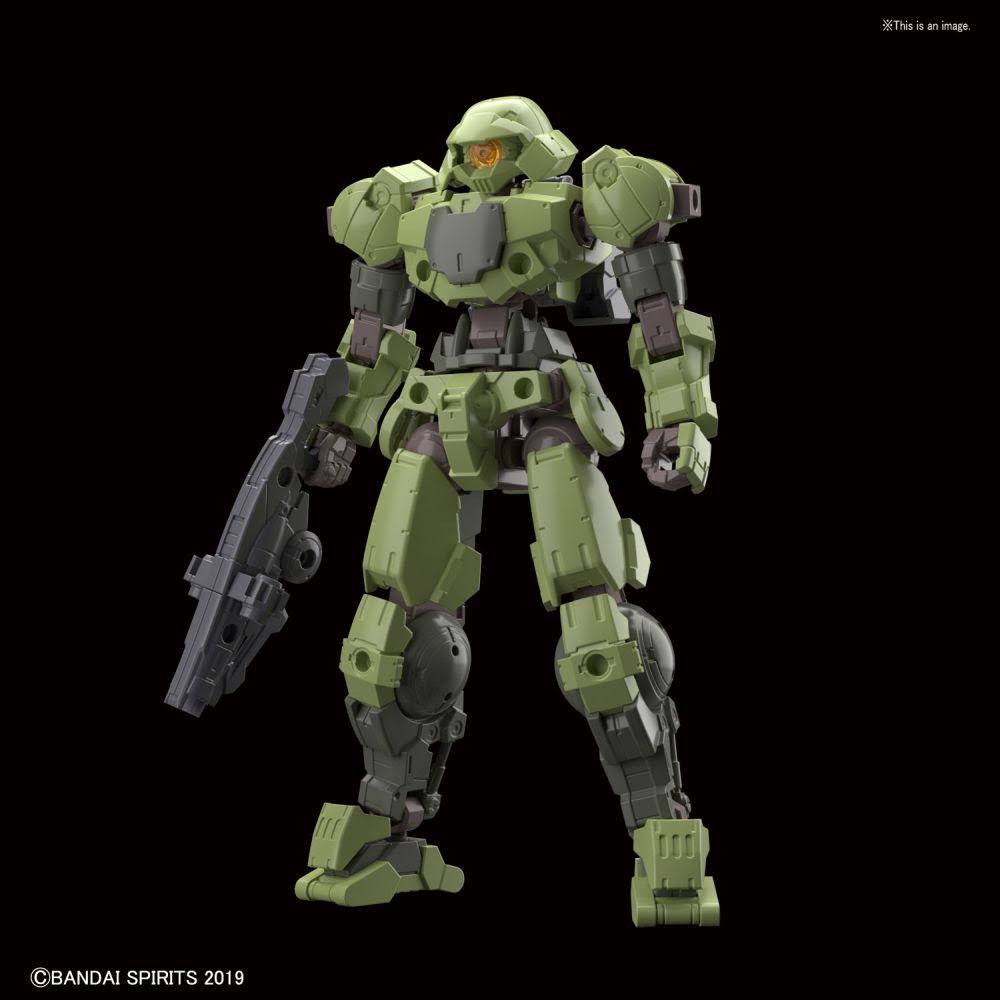Bandai 30 Minute Missions: bEMX-15 Portanova Model Kit - Green, 1/144 Scale