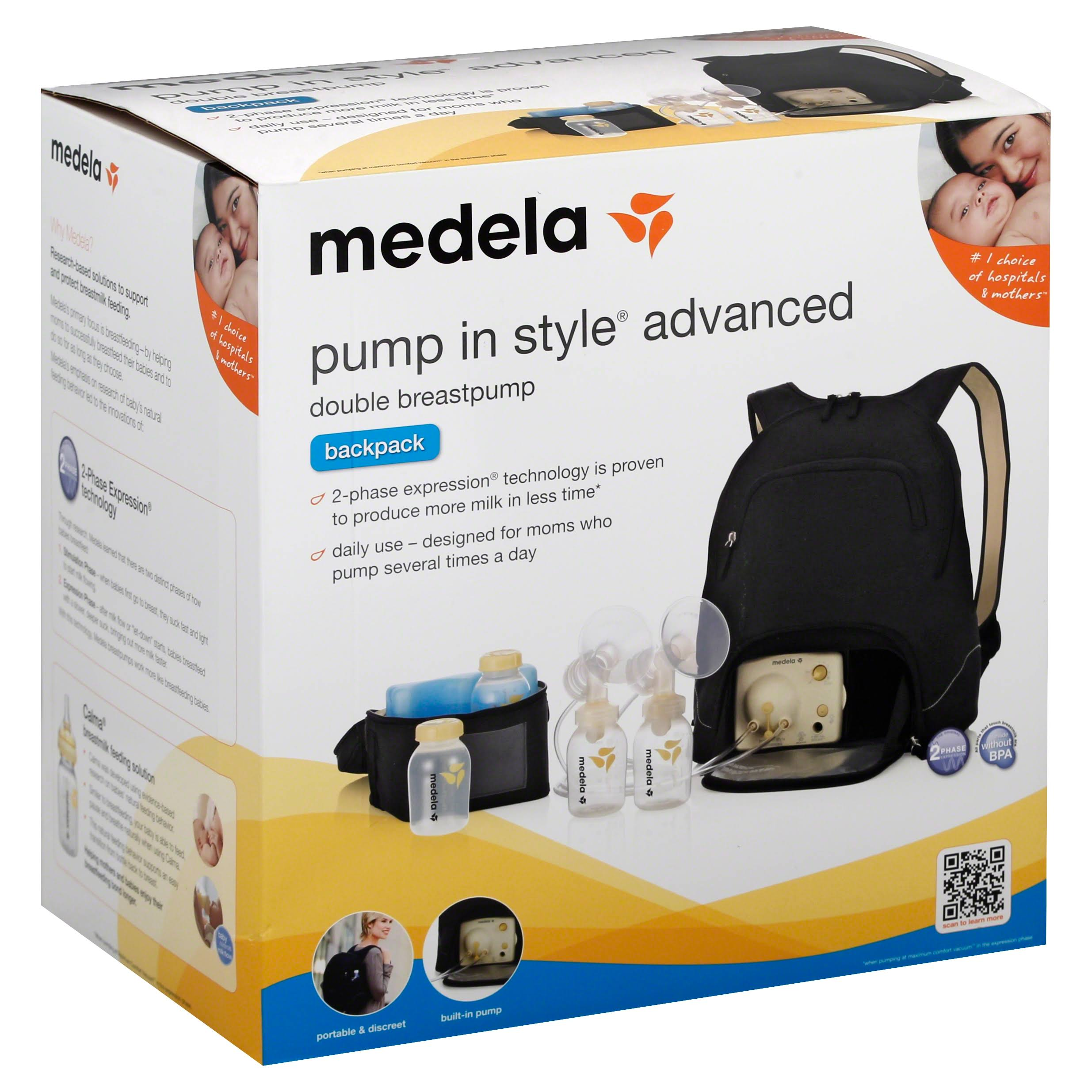 Medela In Style Advanced Double Breast Pump - with Backpack