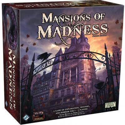 Fantasy Flight Games Ffgmad20 Mansions of Madness 2nd Edition Board Game
