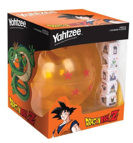 USAopoly Yahtzee Dragon Ball-Z Edition Board Game