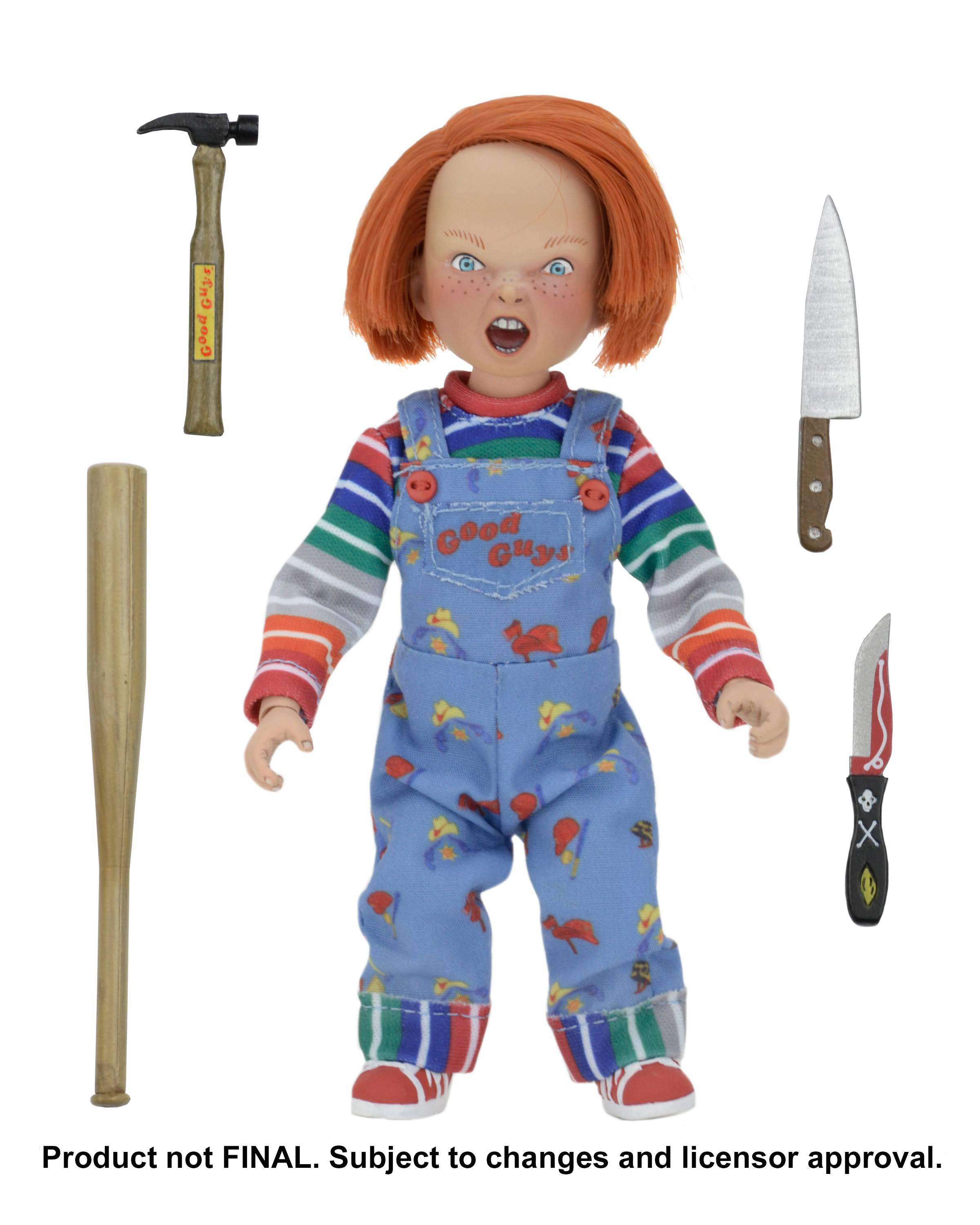 Neca Child's Play Clothed Chucky Action Figure - 8""