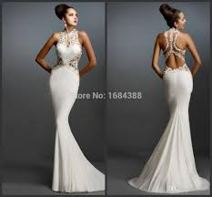 white prom dress picture more detailed picture about mermaid