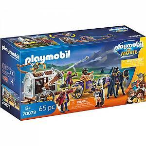 Playmobil the Movie Charlie with Prison Wagon Playset