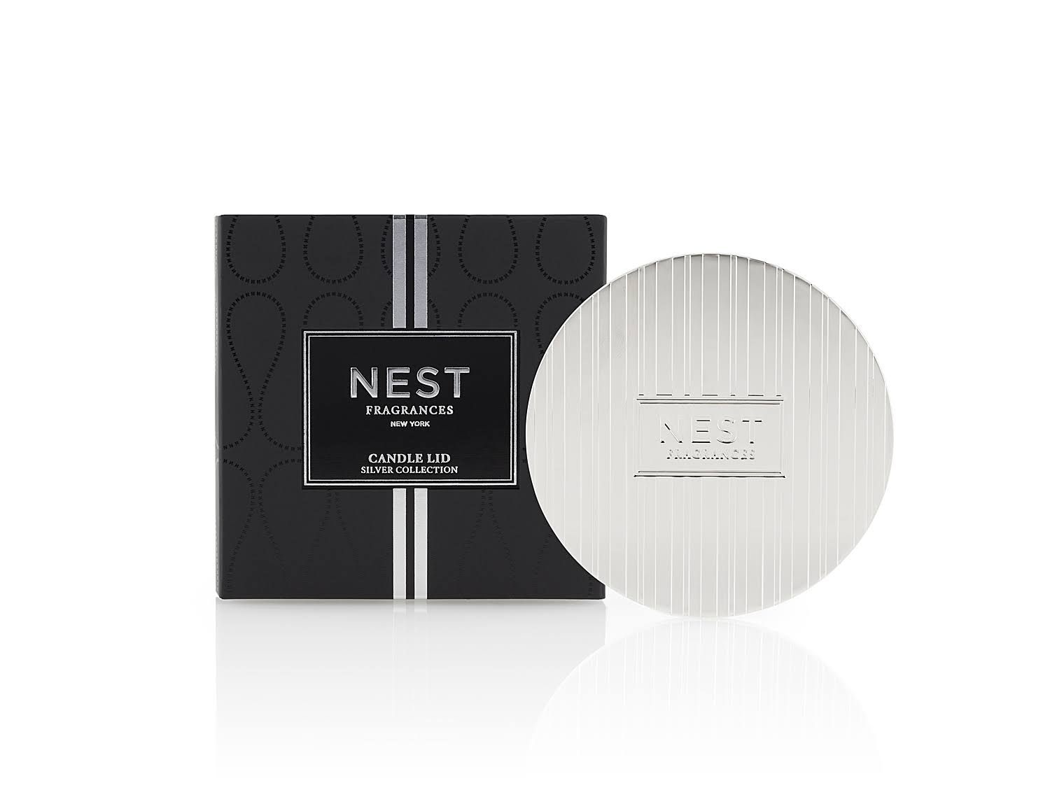 Nest Fragrances Silver Classic Candle Lid