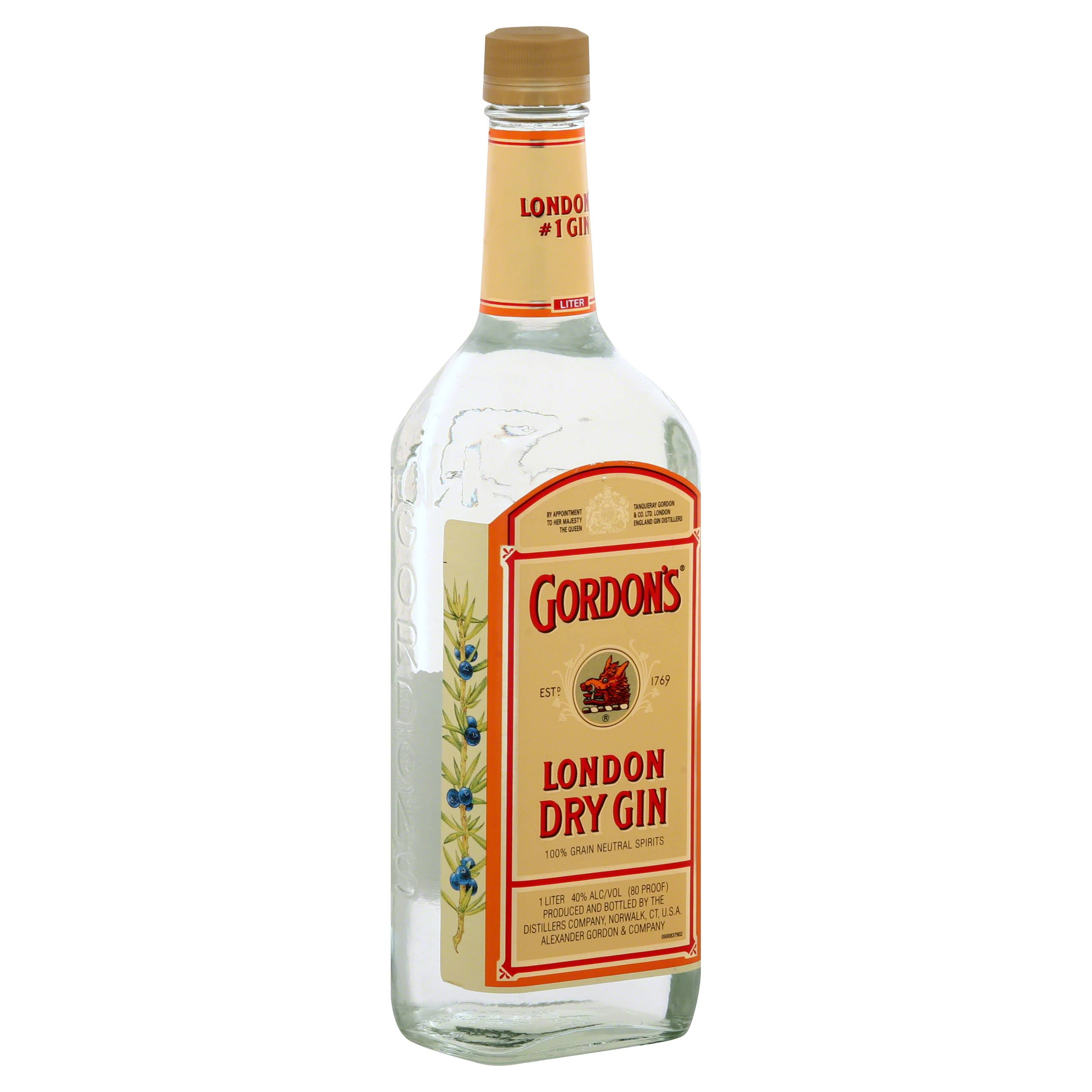 Gordon's London Dry Gin - 33.8oz