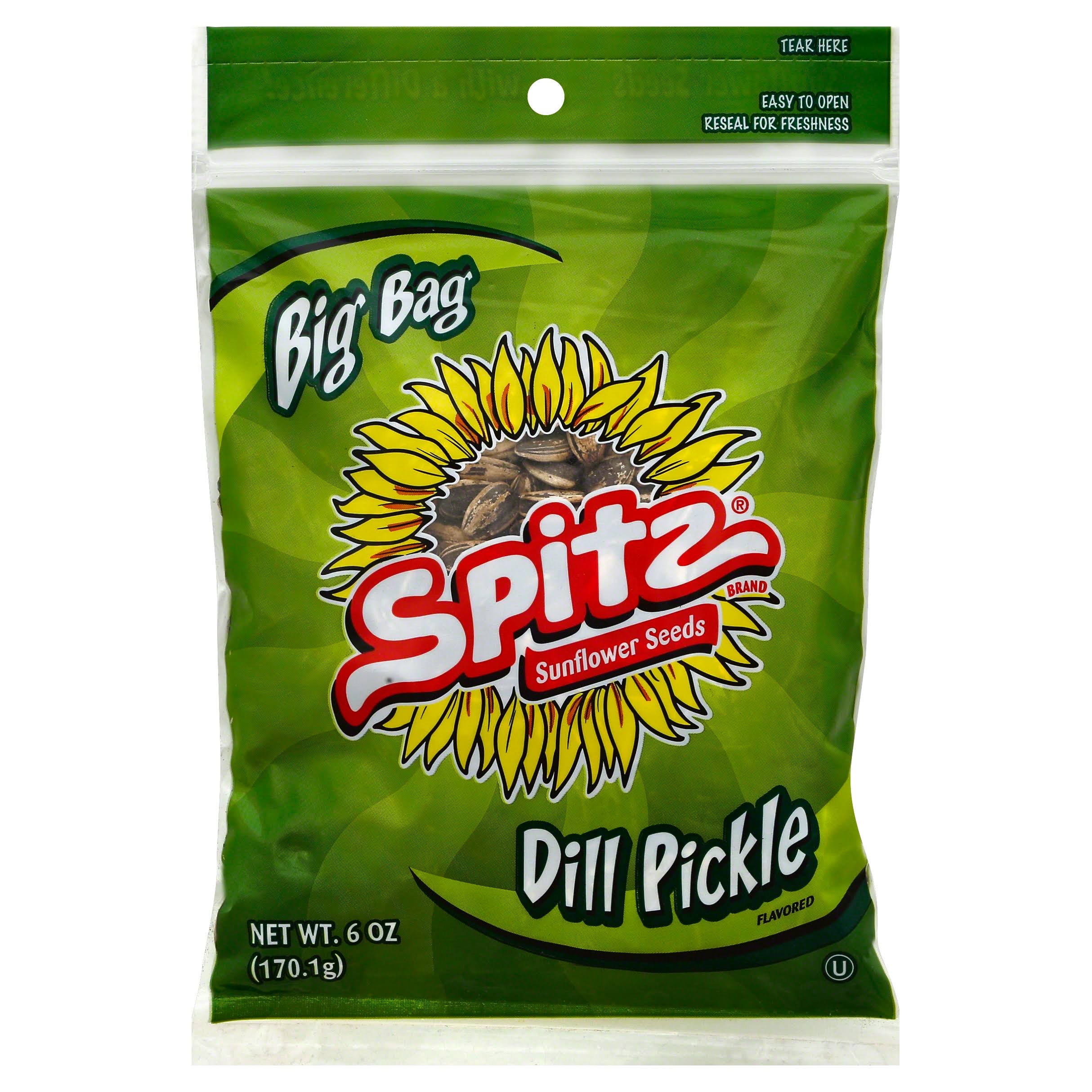 Spitz Dill Pickle Sunflower Seed - 6oz