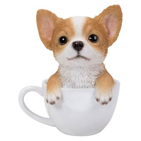 Natures Gallery Teacup Chihuahua Puppy Statue