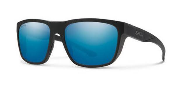 Smith Barra 0003-QG Matte Black Rectangular Sunglasses