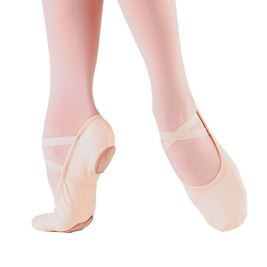 So Danca Bliss Canvas Ballet Slipper 7.5 / Pink / C