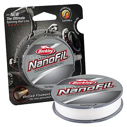Berkley Nanofil Uni-filament Fishing Line - 150yds, Clear Mist