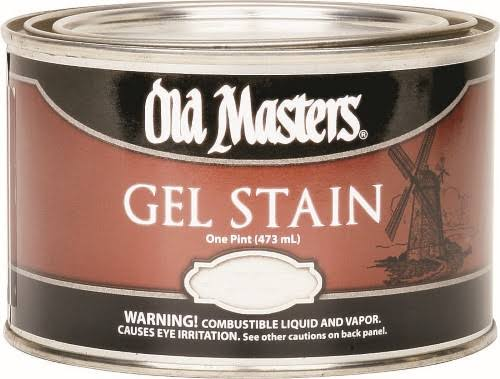 Old Masters 80708 Gel Stain - Dark Walnut, 1pt