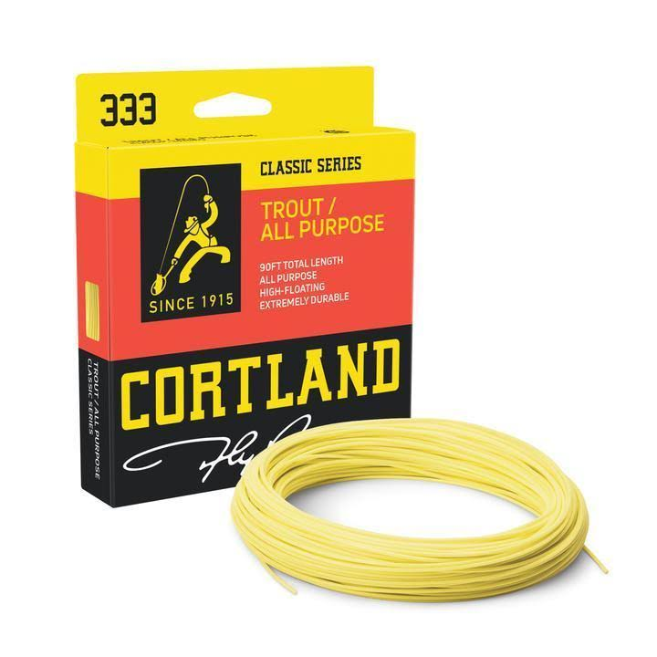 Cortland 333 Classic Saltwater Floating Fly Line - 8