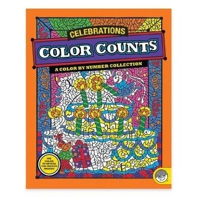 MindWare Color Counts: Celebrations Coloring Book