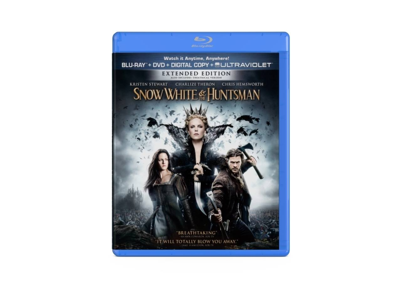 Snow White & The Huntsman Blu-Ray & DVD
