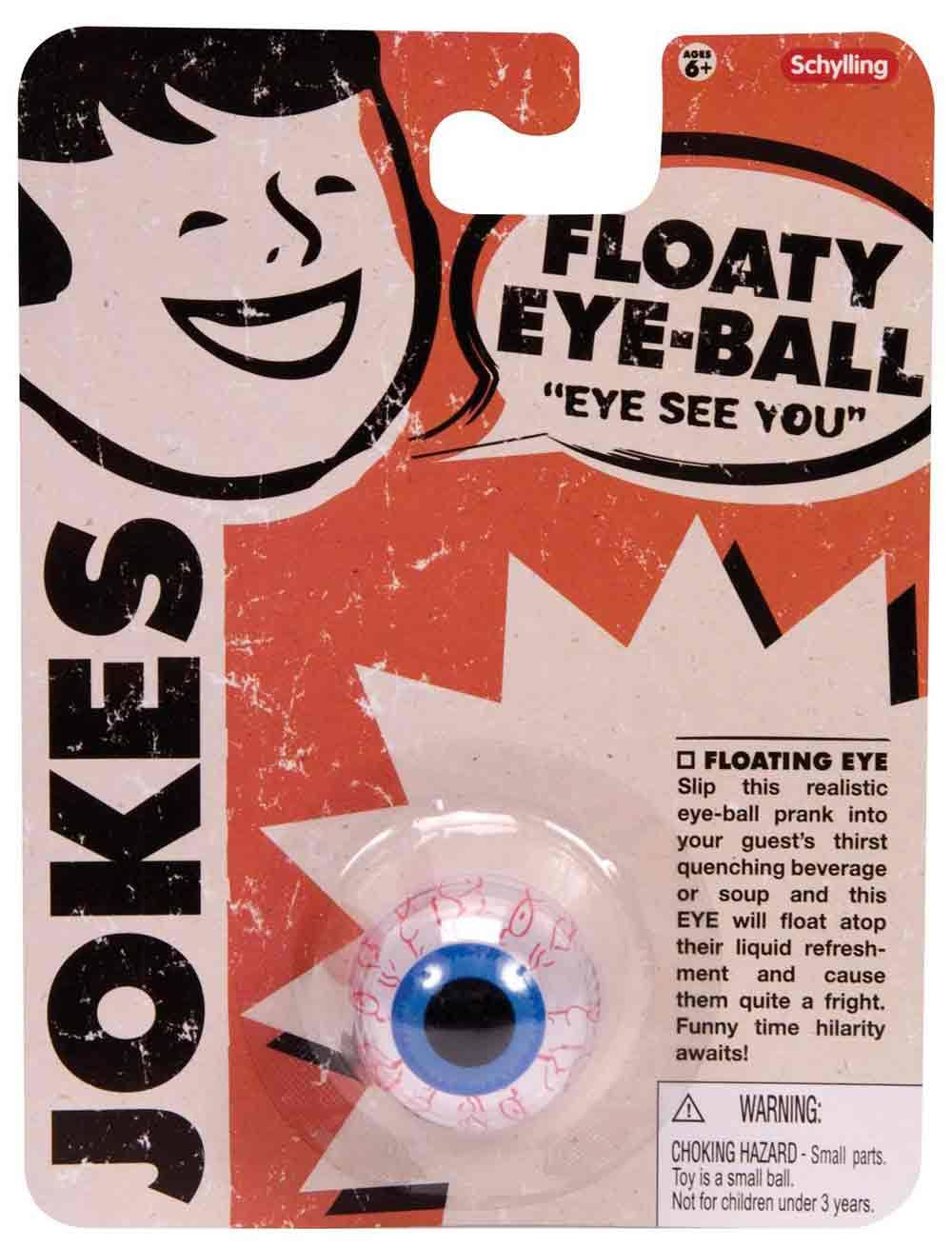 Schylling Jokes - Floaty Eye Ball #JFEB