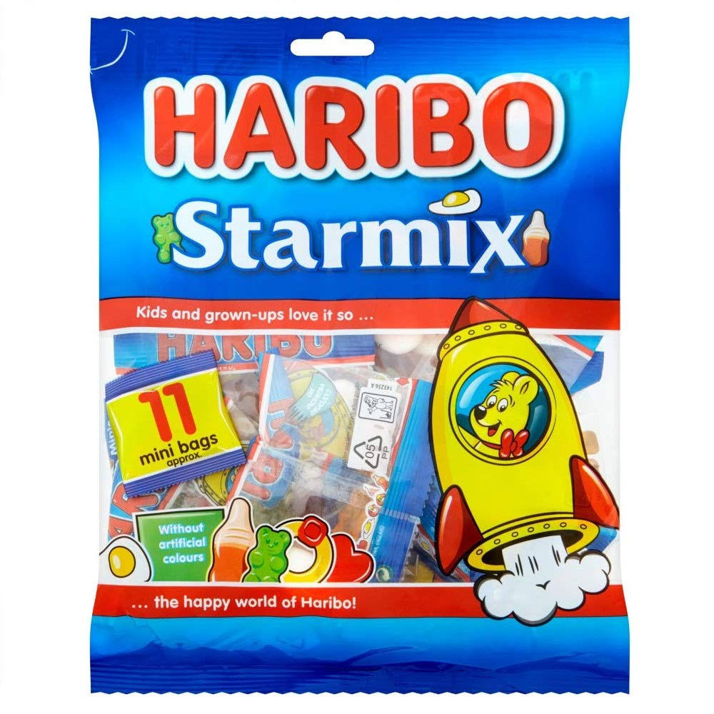 Haribo StarMix Mini Bag - 176g, 10x