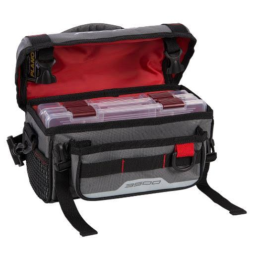 Plano 3500 Weekend Series Softsider Tackle Bag - Gray