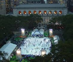 The Pong Ice Skate Rink