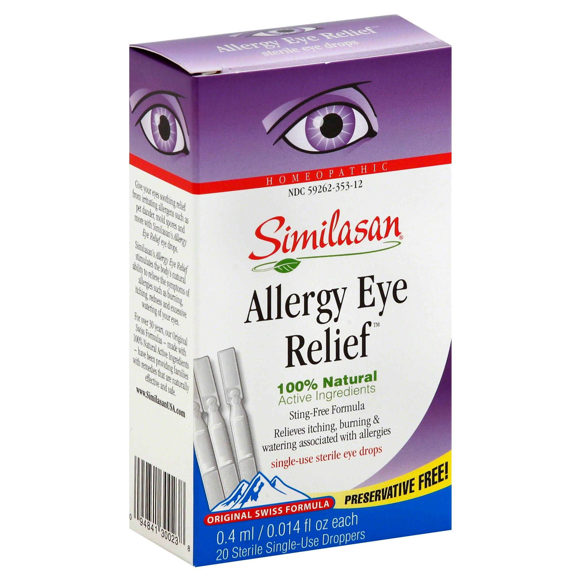 Similasan Allergy Eye Relief - .45ml